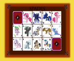 MLP Personal Project - Playing Cards: Spades by Electuroo