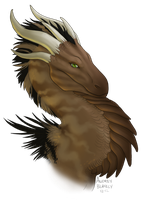 Dune Dragoness - Done by Scaleeth