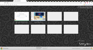 Black Theme Google Chrome by EmyZul