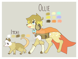 Ollie + Itchi Ref by Nickerroni