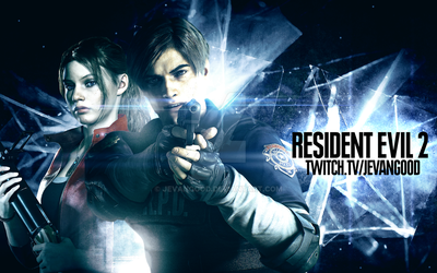 ... Resident Evil 2 - Wallpaper by jevangood
