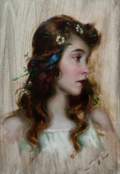 Lillian Gish by AthanArt
