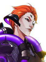 Moira [Overwatch] by darwh