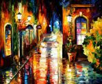 Paying a Visit by Leonid Afremov