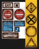 transit system signs by ToTac
