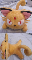 Persian Chibi Plushie SOLD by UraHameshi