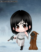 Chibi Star Wars 5 by vampiregirl123456
