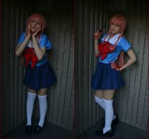 Yuno Gasai Completed Cosplay by thecreatorscreations