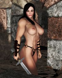 Topless Warrior Lin by Supro by vince3