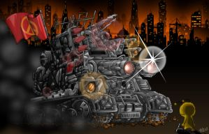 Newgrounds Tank by KupoGames