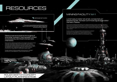 Resources - 2 page spread - WIP - Worldview by JamesLedgerConcepts