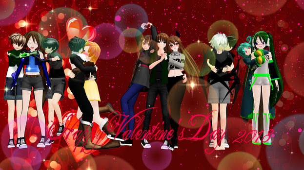 Happy Valentine's Day 2018 by RitaLeader14
