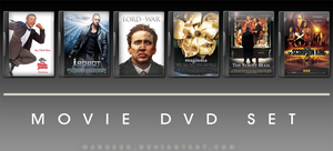 Movie DVD Icons 15 by manueek