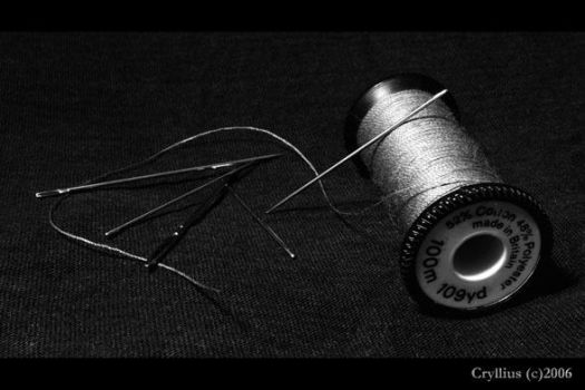 Sewing by Cryllius