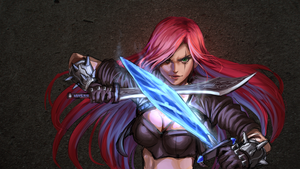 Katarina with Sheen by AthenaWyrm