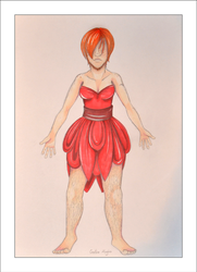 The nightmare in a red dress by cambiare-magico