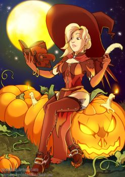 Getting Ready For OverWatchy Halloween by TamarinFrog