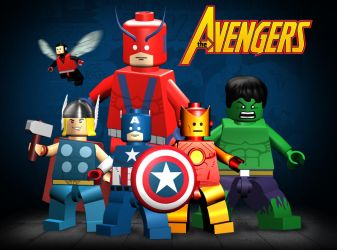 Lego Avengers by mikenap22