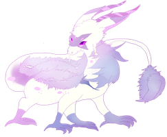My cloudy dragon bby by NeeFloof