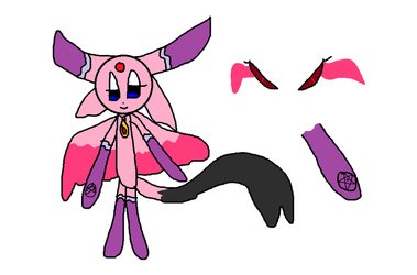 Updated Destiny Ref by InkedEspeon