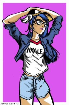 Hipster Arale by juanjosilva