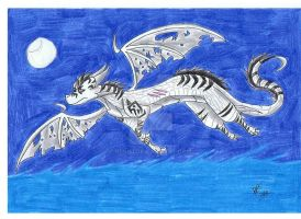 Lunar's Flight by Resiri