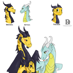 Volteer's family by DireRedemption