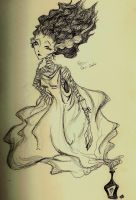 bride of frankenstein by made-me-a-monster