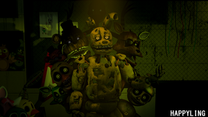 [SFM FNAF] Five nights at Freddy's 3 by Happyling