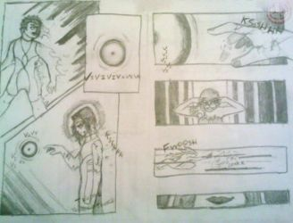 comic study-suspence by LaneCornell