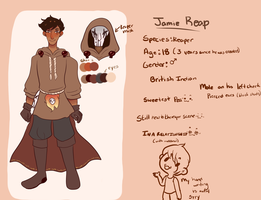 Jamie Reap by gh0stbun