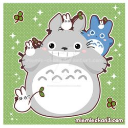 Totoro by miemie-chan3