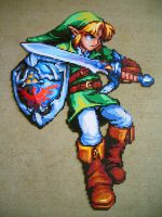 Link the Brave Bead Sprite by SerenaAzureth