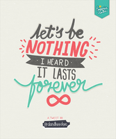 Let's be Nothing by eugeniaclara