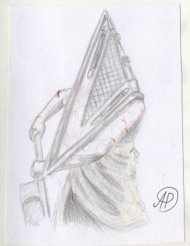 Pyramide Head Silent Hill by ArcticPoison