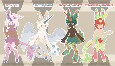 :Rosales: Faux-Storm Guest Auction {2/4 OPEN} by SweepAdopts