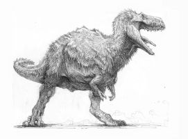 Woolly T-Rex by Zombiraptor
