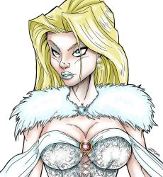 Emma Frost by Zupano