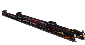 Lego Trains: Express Train 1 by Shadow20X6