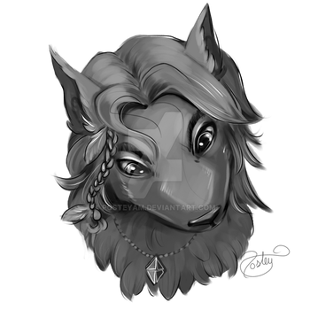 Nykita - Headshot Sketch by posteyam