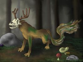 Forest Spirit by Xentris