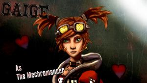 Gaige As The Mechromancer by Broken-Exile