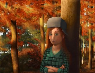 Wendy en el bosque / Wendy in the forest by clay-film