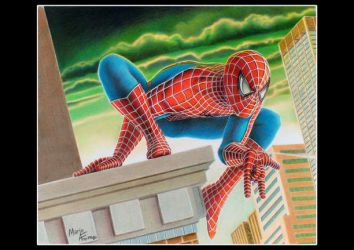 spiderman by mario-freire