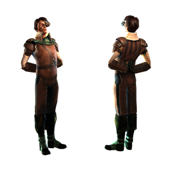 Character Costume - Captain by musegames
