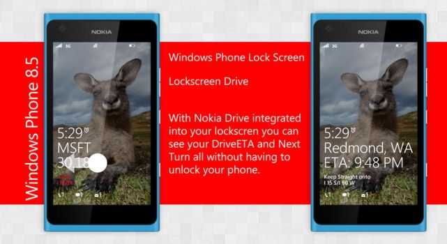 3. Windows Phone 8.5 Live Lockscreen by ShadyLaneDesigns