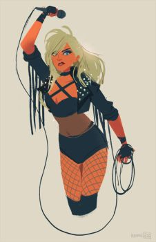 Black Canary by hyamei