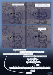 Underwatertale Chapter 4 Sick Page 21(CHAPTER END) by Doudy20