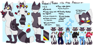 Robo Reference Sheet by cxlpico