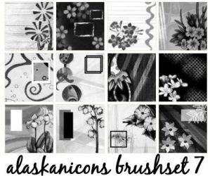 alaskanicons brush set 7 by AlaskanEskimoPie